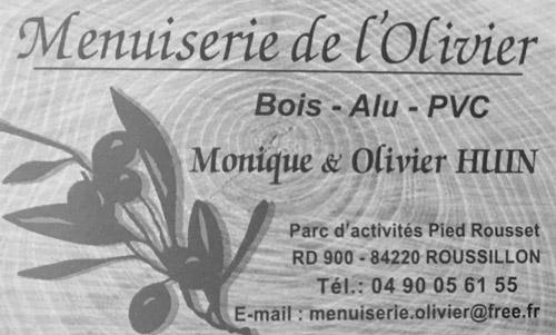 carte de visite menuiserie de l olivier - bonnet peinture decoration