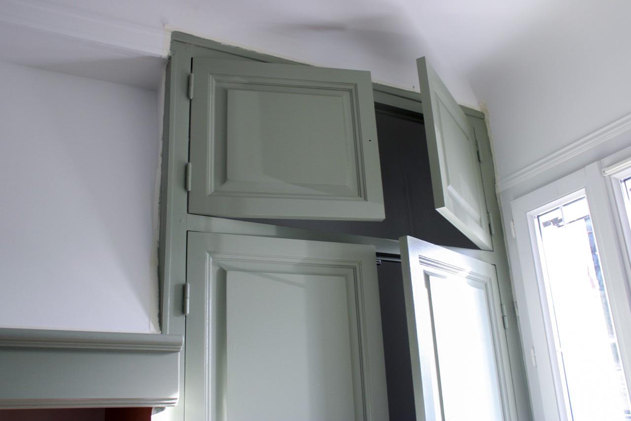bonnet peinture décoration - photo chantier apres - meuble